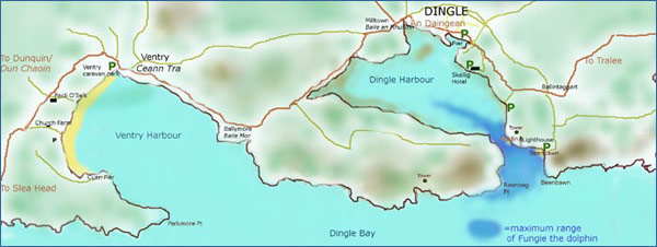 Click on Dingle Map for larger version
